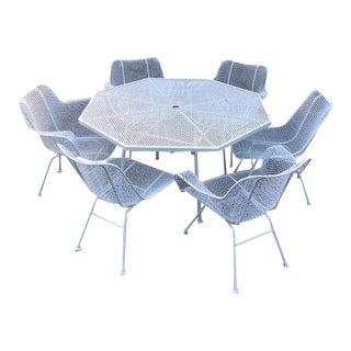 Woodard Sculptura Patio Chairs - Set of 6