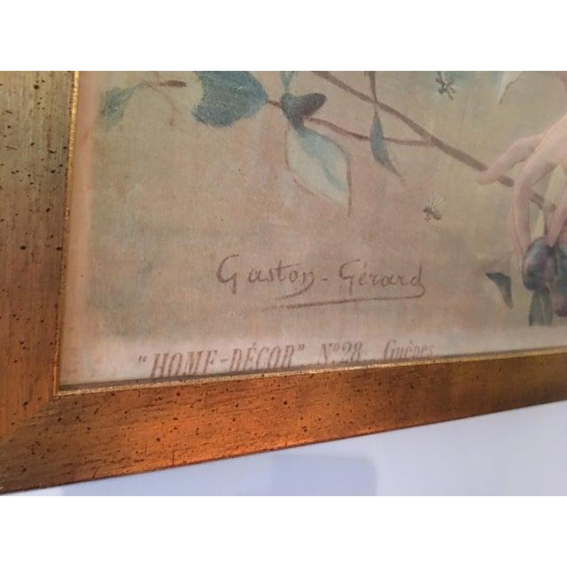 Art Nouveau 'Lady & Flowers' Poster - Image 10 of 10
