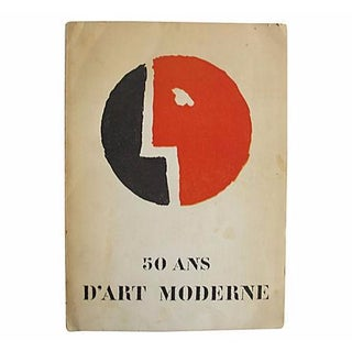 50 Ans d'Art Moderne, French Book