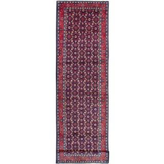 "Mahal Vintage Persian Rug, 3'8"" x 13'8"""
