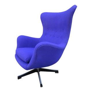 Scandinavian Egg Chair in the Style of Arne Jacobsen