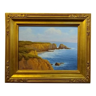David Chapple California Seascape Impressionist Oil Painting