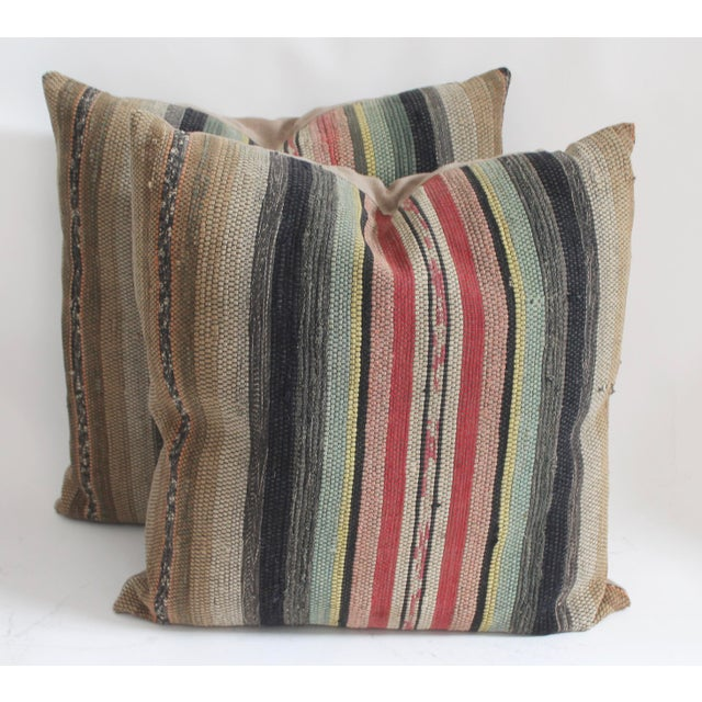 Rag Rug Pillows - Image 2 of 4