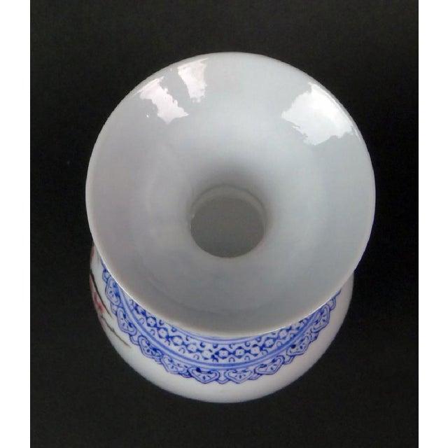 """Antique Chinese """"Eggshell"""" Porcelain Vase - Image 5 of 7"""
