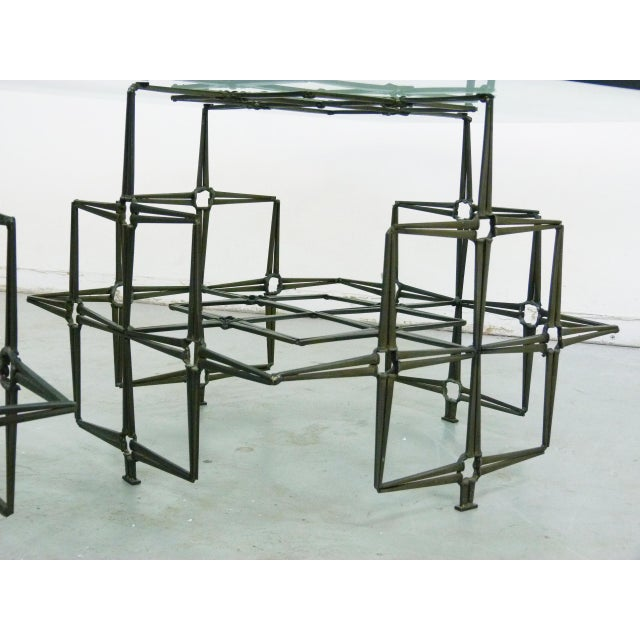 Studio Crafted Nail Base Brutalist Coffee Table - Image 6 of 7