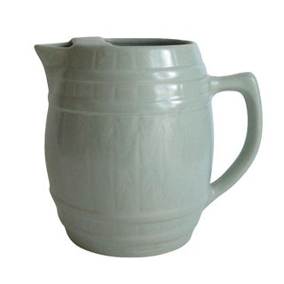 Celadon Barrel Pitcher