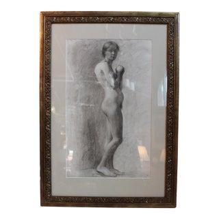 George Rabb Female Nude Drawing