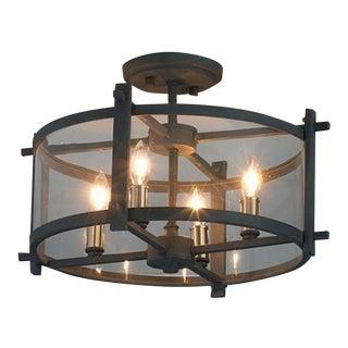 Industrial Modern Ceiling Light