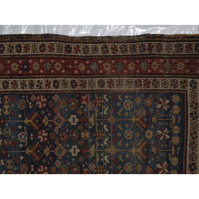"Antique Russian Shirvan Rug - 3' X 4'6"" - Image 5 of 6"