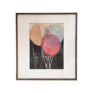 """""""Red Balloon"""" Lithograph, 1961"""