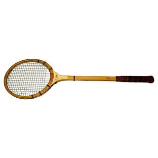 Vintage Squash Racquet