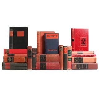 Red & Black Classic Books - S/20