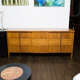 John Widdicomb Walnut Dresser by Dale Ford