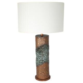 MARCELLO FANTONI TORCH-CUT TABLE LAMP
