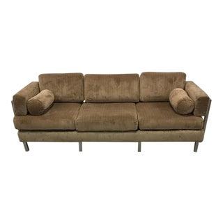 Todd Oldham Tan Modular Snap Sofa