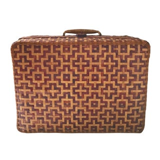 Geometric Weave Basket Trunk