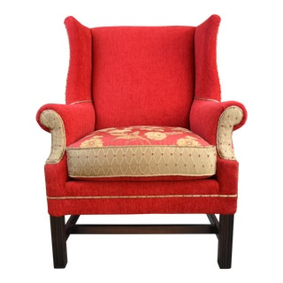 Asian Spice Wingback Chair