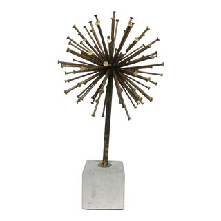 Nail Starburst Sculpture
