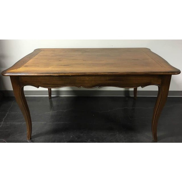 Hekman French Country Oak Writing Desk - Image 3 of 11
