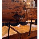 Image of Tree Stump Bar Stools - Pair