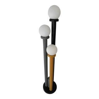 Menphis Lacquered Wood Floor Lamp