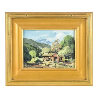 Richmond Kelsey Early La Canada Oil Painting