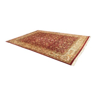 Persian Red & Gold Rug - 10′ × 14′