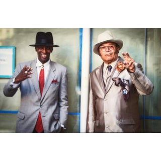 Two Guys In Suits Matte Photo