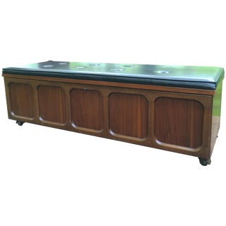 Lane Cedar & Walnut Chest Bed Side or Entry Bench