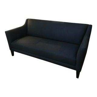 Crate & Barrel Blue Margot Sofa