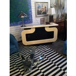 Image of Black and Ivory Lacquer Dry Bar