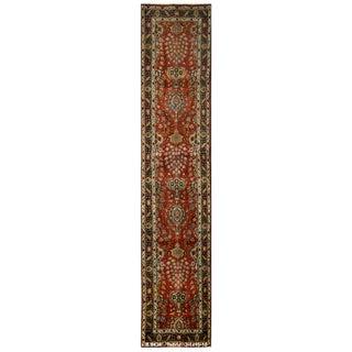Vintage Persian Tabriz Rug - 3′1″ × 15′10″