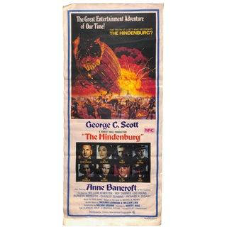 1975 The Hindenburg Vintage Movie Poster