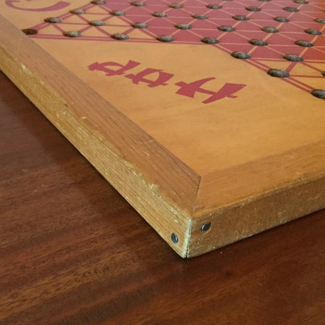 Vintage Wooden Chinese Checkers Board - Image 8 of 11