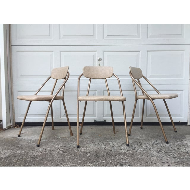 Mid-Century Stylaire Folding Chair - Set of 3 - Image 2 of 11