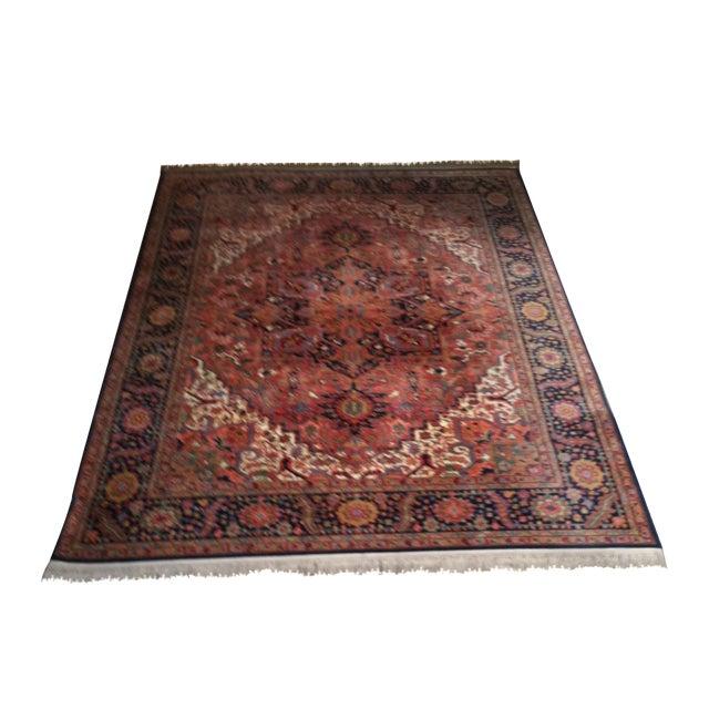 """Oriental Persian Wool Rug - 8'8"""" X 12' - Image 1 of 10"""
