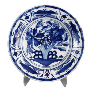 Antique Dutch Delft Plate