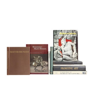 Sculpture Of The Western World Books - Set of 9