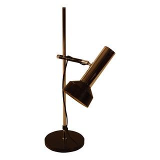 1960s Italian Modern Adjustable Table Lamp