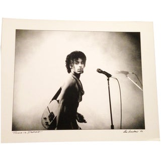 Original Prince Photo Signed by Artist