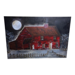 Full Moon Oil Painting