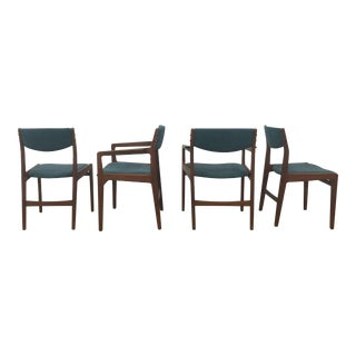 Danish Teak Dining Chairs - Set of 4