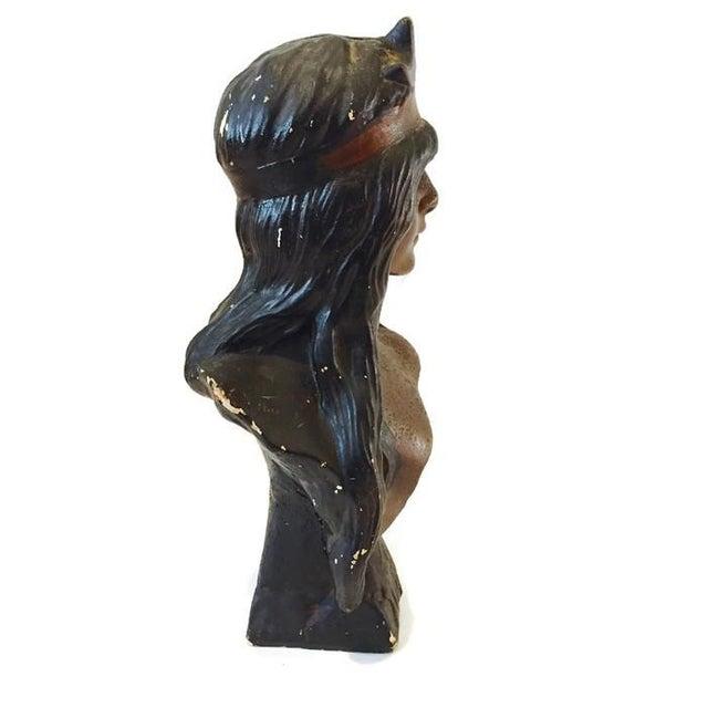 Vintage Bohemian Princess Indian Goddess Statue - Image 5 of 6