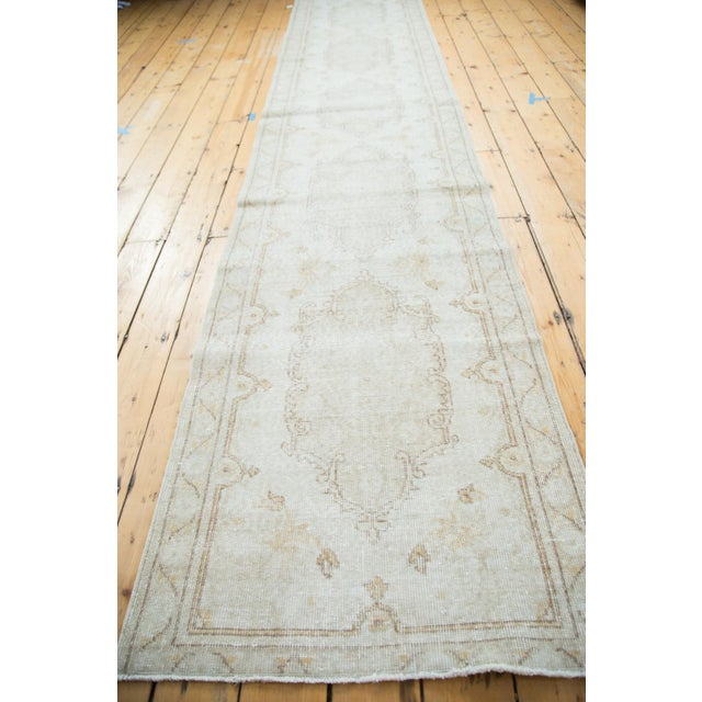 "Distressed Oushak Rug Runner - 2'8"" X 13' - Image 7 of 8"