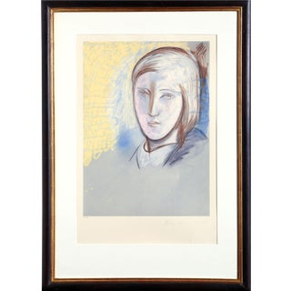 "Pablo Picasso ""Portrait of Marie Therese Walter"" Lithograph"