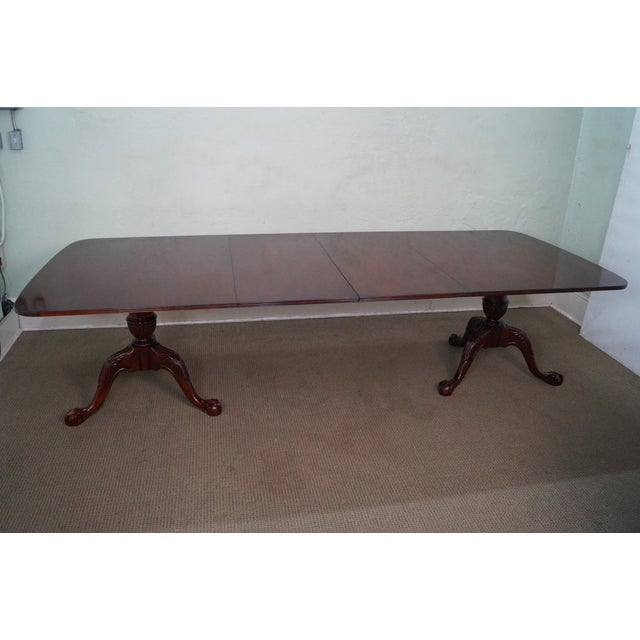 Wellington Hall Duncan Phyfe-Style Dining Table - Image 9 of 10