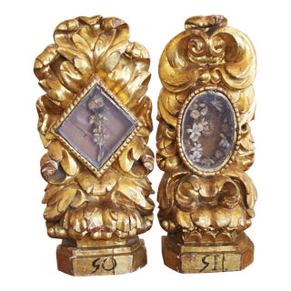 Pair of Baroque Reliquaries