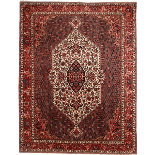 Very Fine Wool Hand-Knotted Persian Bakhtiari Rug