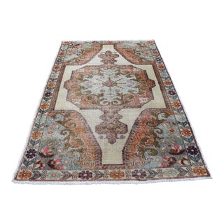 Turkish Boho Handknotted Rug - 4′9″ × 7′5″