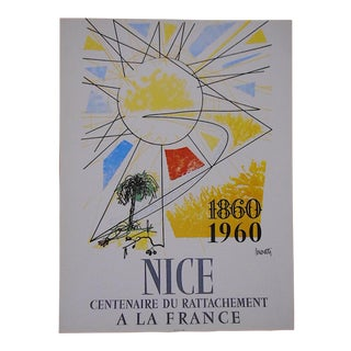 Vintage Posters by Listed Artists-Nice, France C.1973